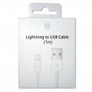 Apple Data Cable MQUE2ZM/A Lightning-auf-USB-Kabel, 1m, Blister