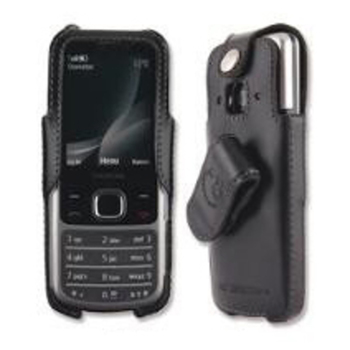 Jim Thomson Case, Leather mit Drehclip Turnline für Nokia 2323, Blister