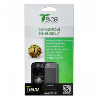 TBIGG Screen Protector for Samsung Galaxy S3 Mini (Front x2), Blister
