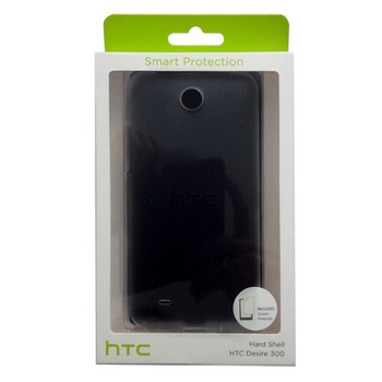 HTC Hard Shell HC C920 for Desire 300, transparent,  Blister