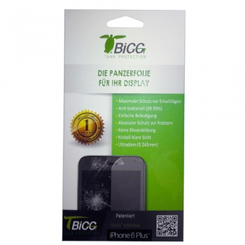 TBIGG Screen Protector for Apple iPhone 6 Plus / 6S Plus (Front x2), Blister