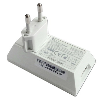 HTC Charger TC P300, 1A, without cable, white, Bulk