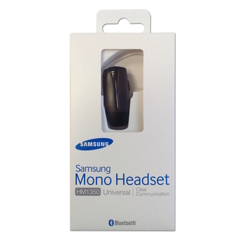 Samsung Bluetooth Headset HM1350, black, Blister