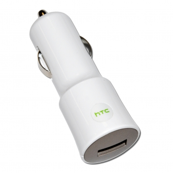HTC Car Charger CC C120, USB, 1000mA, white, Bulk