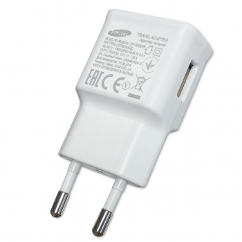 Samsung Charger EP-TA50EWE 1.55A without cable, white, Bulk