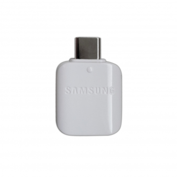 Samsung Adapter EE-UN930BWEGWW for Galaxy S8/S8+, OTG-Connector USB-C to USB, white, Bulk
