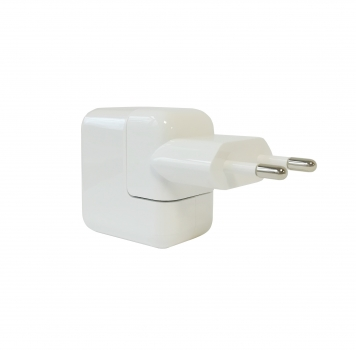 Apple Charger A1401 MD836ZM/A, EU 2Pin 12W, white, Blister